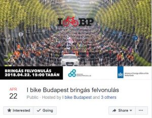 I bike Budapest bringás felvonulás